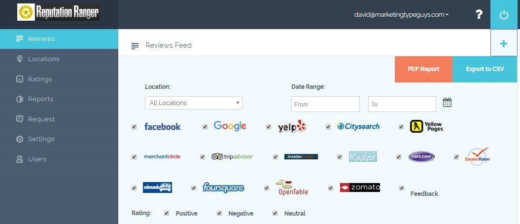 Review Websites We Monitor